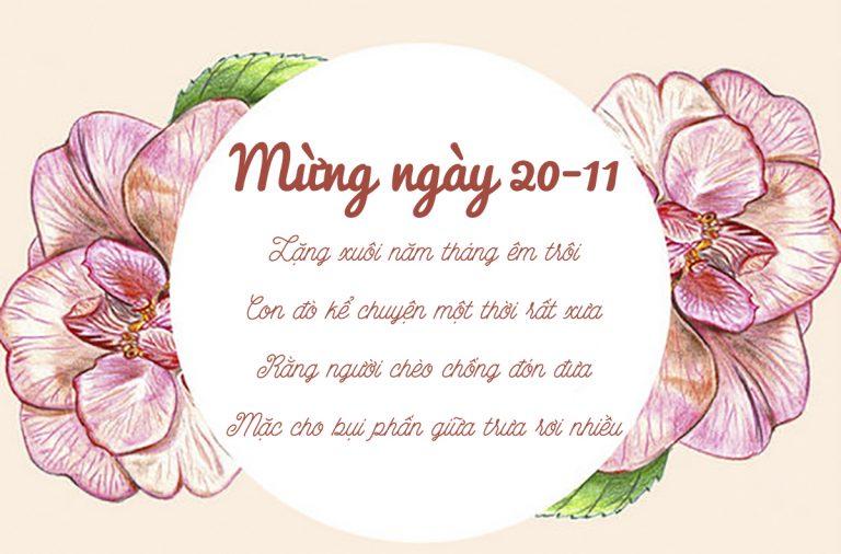 thơ về ngày nhà giáo Việt Nam hay nhất