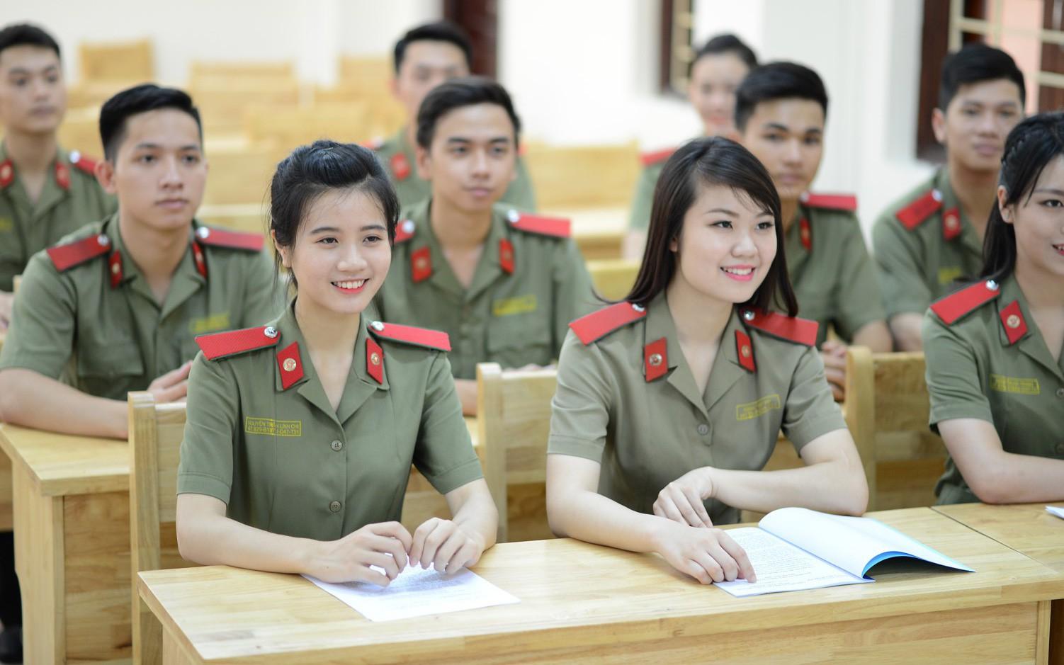 Khối D trường Đại học cảng sát nhân dân
